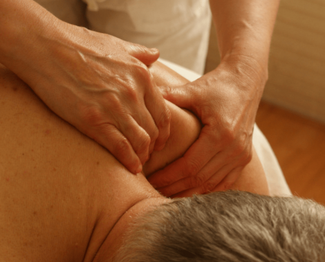 Deep Tissue Massage on Man